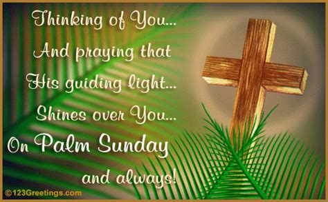 guiding light  palm sunday ecards greeting cards