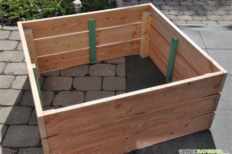 Hochbeet Selbst Bauen Holz hochbeet selber bauen 187 aus holz 187 anleitung mit bildern