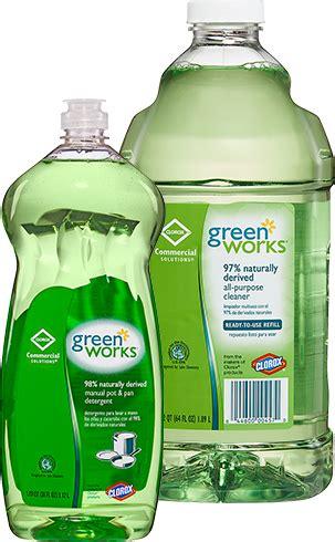 natural pan cleaner green works dishwashing liquid clorox professional cloroxpro