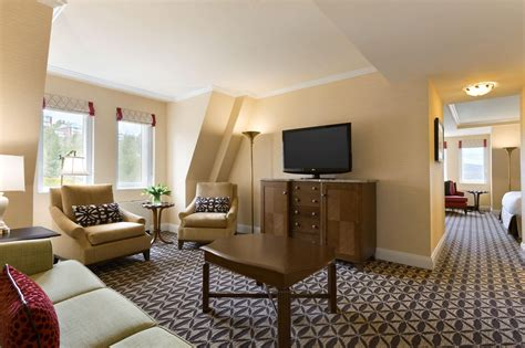 one bedroom suites fairmont le manoir richelieu designer travel