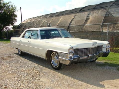 1965 Cadillac Fleetwood Brougham For Sale 1965 Cadillac Fleetwood Brougham 79k Original