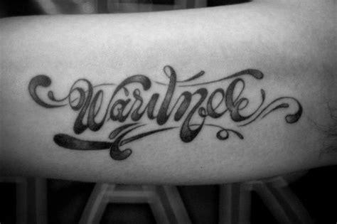 tattoo font ka preview