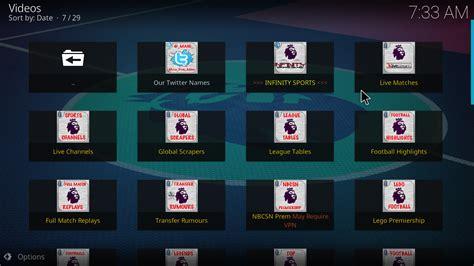 epl kodi addon live premier league kodi addon kodi iptv malaysia