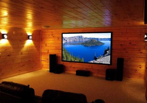 fixed projector screen  home cinema flexible