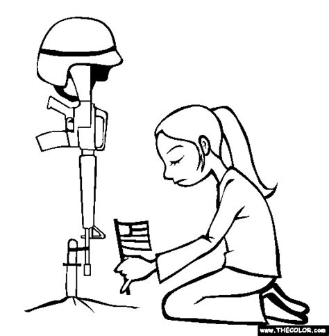preschool coloring pages for memorial day free memorial day coloring pages