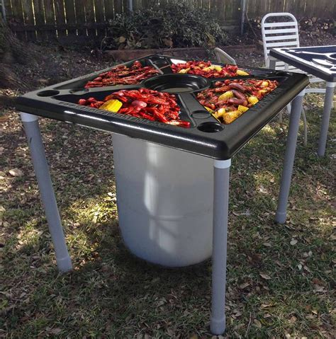Crawfish Table For Sale this is the peel n toss cajun crawfish table it s