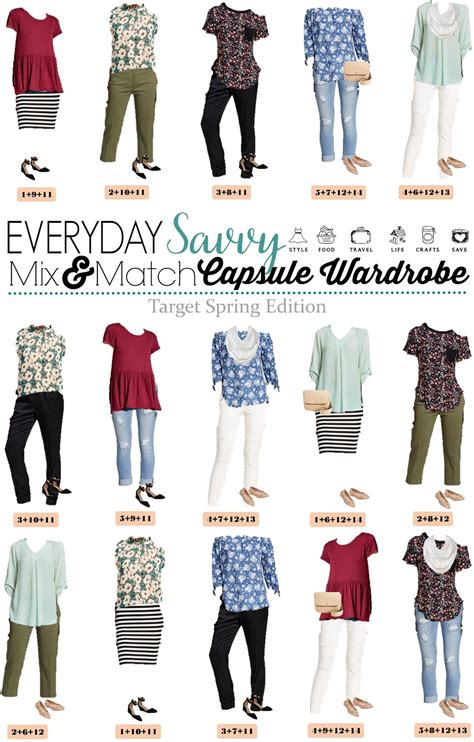 Wardrobe Mix And Match Ideas by Target Capsule Wardrobe Mix And Match Ideas