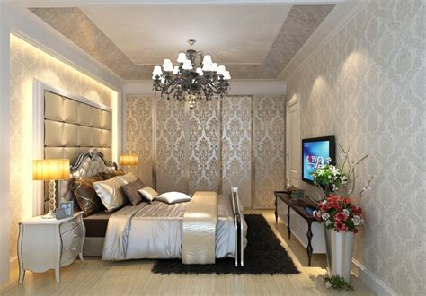 Residential interior designs bedroom neoclassical