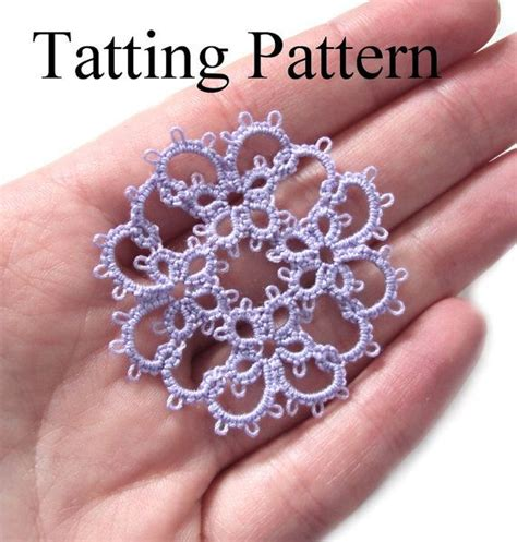 etsy tatting pattern 469 best images about tatted motifs on pinterest