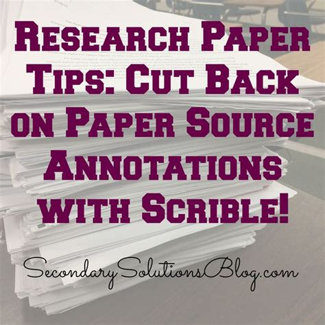 tips on writing research papers research paper tips scrible teaching writing