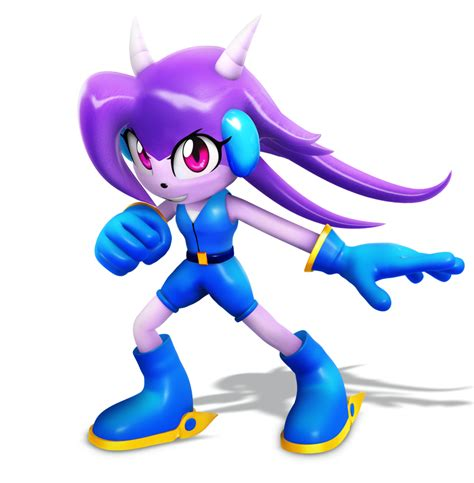 Alilac Gamis 9 freedom planet sash lilac render by nibroc rock on deviantart