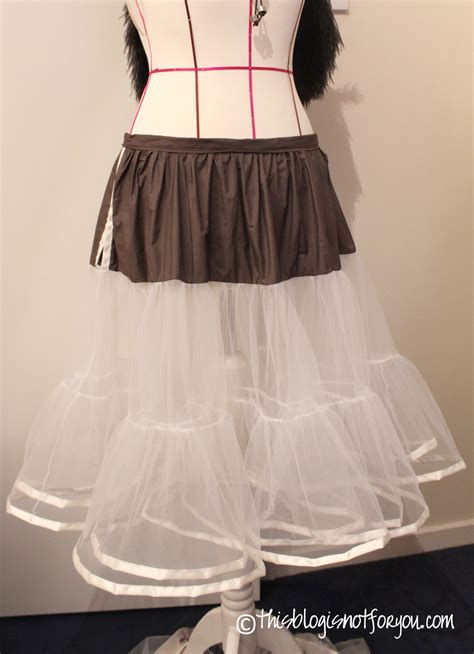 simple underskirt pattern how to make your own petticoat this blog is not for you
