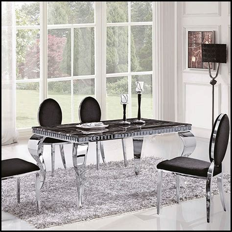 stainless steel table top metal top dining room table american stainless steel dining table marble top dining