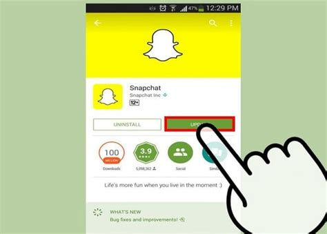 snapchat app for android free snapchat for android app from play store