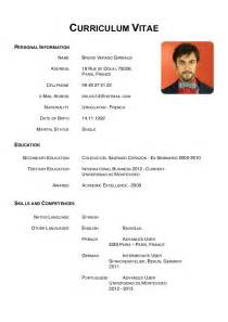Curriculum Vitae Or Resume by Resume Vs Cv Ebook Database