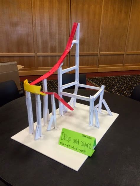 How To Make A Paper Roller Coaster Loop - libraryland paper roller coasters
