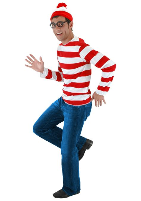 where s waldo costume exclusive sizes available