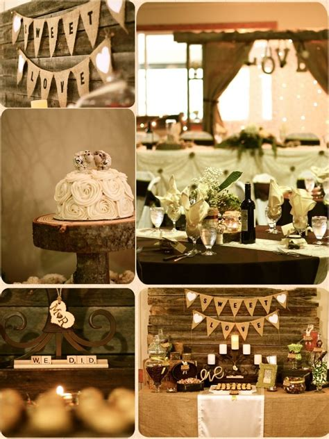 rustic elegance rustic wedding decor