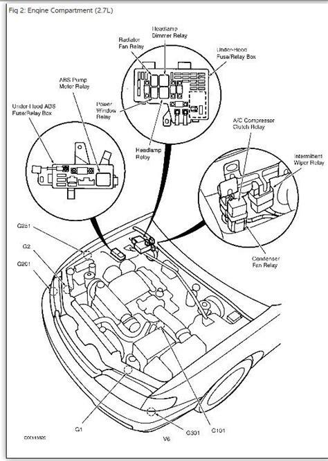 96 honda accord air conditioner wiring diagram accord