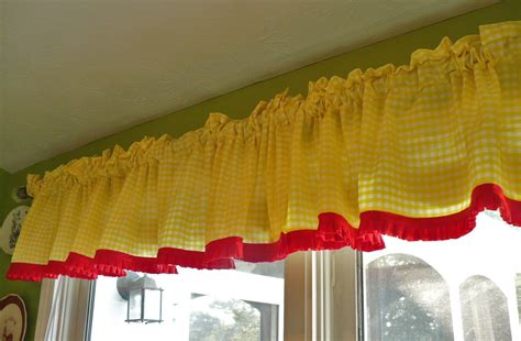 How To Make Kitchen Curtains My Kitchen More Summery A Cultivated Nest