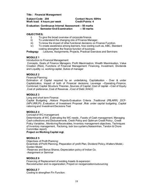 Bellevue Mba 655 Quantitative by Mba Syllabus