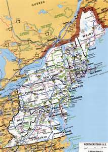 northeastern us map northeastern america map pictures to pin on