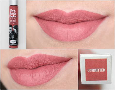 Sale The Balm Meet Matte Hughes Lasting Honest the balm meet matte hughes liquid lipstick committed