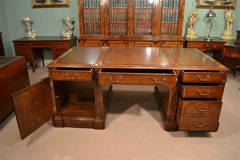 Antique Office Desks For Sale A Partners Desk For All Elegance Regent Antiques