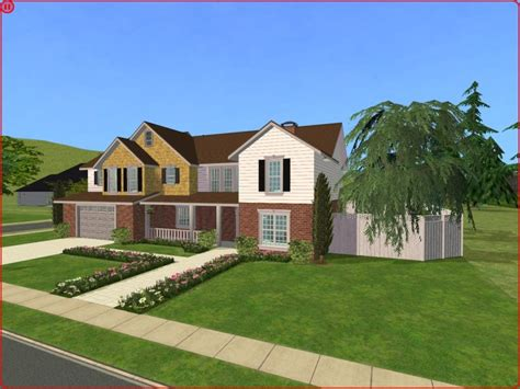 new american style homes mod the sims 4 bedroom new american craftsman style home