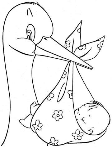 imagenes para colorear baby shower imagenes para decorar con cigue 241 as para baby shower
