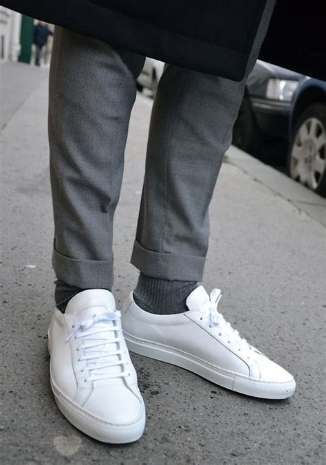 white sneakers mens 25 best ideas about common projects on common