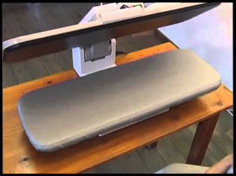 table top steam press iron blanca press commercial ironing press demonstration dvd