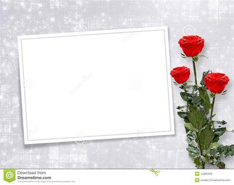 Imagenes Tarjetas Rojas | tarjeta para la invitaci 243 n con las rosas rojas im 225 genes de