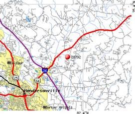 map of hendersonville nc hendersonville carolina