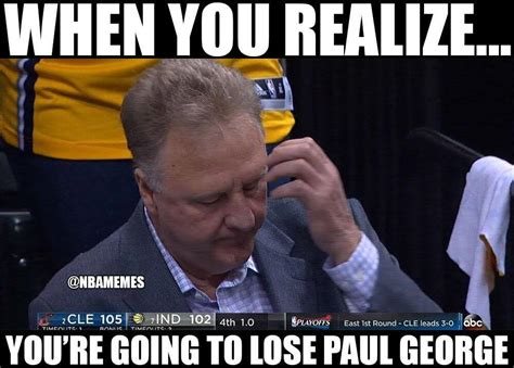 Pacers Meme - top 10 memes from cavaliers sweep of pacers in round 1