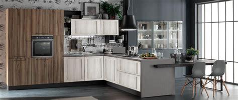 cucina con tavolo penisola cucina con penisola living con tavolo integrato in offerta