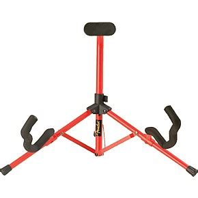 Standing Mini Frame fender tubular mini a frame stand musician s friend