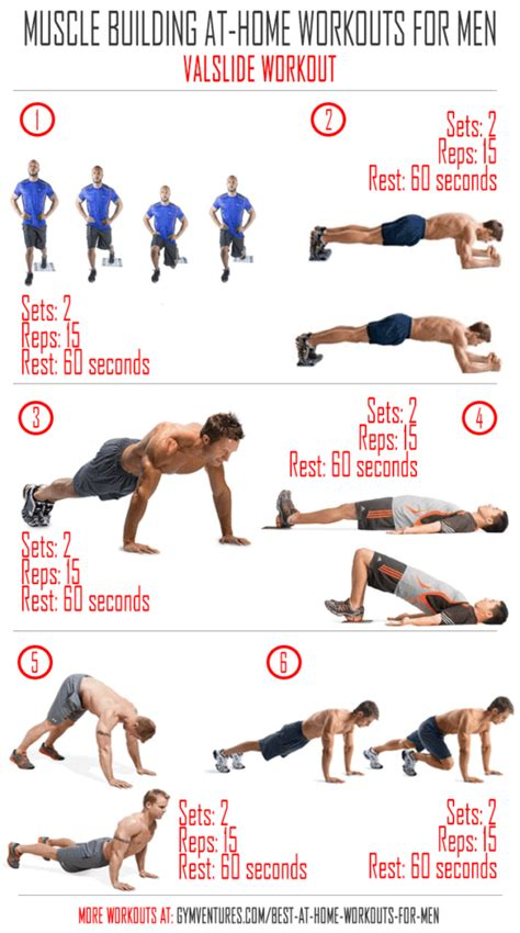 workout plan for men at home at home workouts for men 10 muscle building workouts