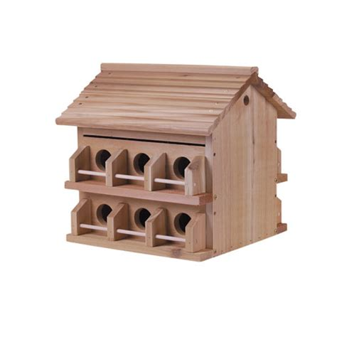 Martin House by Duncraft Cedar Purple Martin House