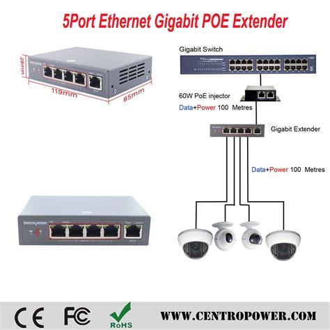 Poe Switch 5 Port Cctv Adaptor poe splitter best for cctv 5 ports poe switch 4 port for cctv buy poe splitter 5v rj45