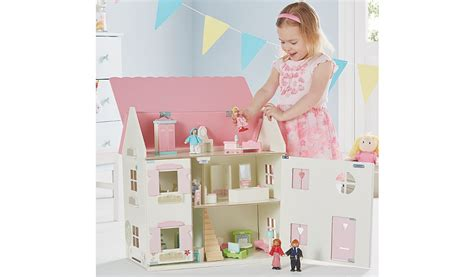 dolls house setting george home wooden dolls house large furniture set toys character george