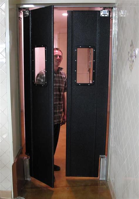 Swing Door - clear vu door clear plastic swing doors on sale clear pvc