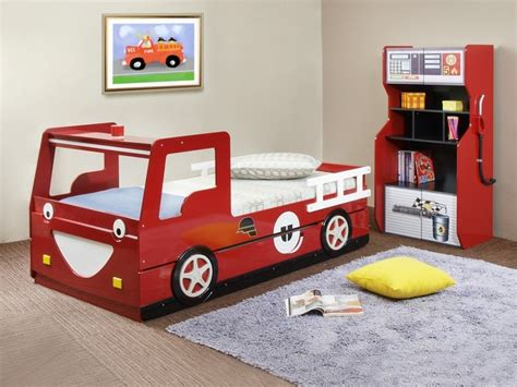 fire truck twin bed red smiling fire truck twin bedframe with trundle modern