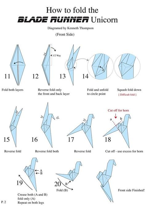 How To Make An Origami Unicorn - 25 best ideas about blade runner on blade