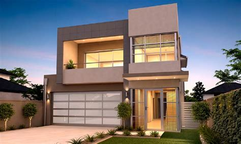 custom house designs awesome 2 level modern home building with glass facade