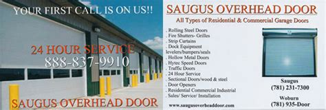 Saugus Overhead Door Saugus Overhead Door Co Residential Garage Doors Commercial Garage Doors Serving The Boston