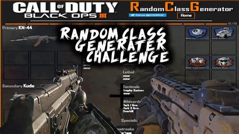 challenge generator bo3 random class generator challenge 1