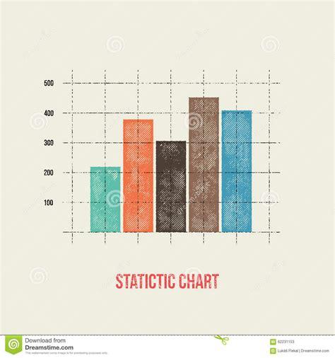 graph layout vector vector flat design infographics statistics bar graph