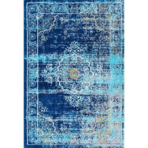 aspace rug nuloom vintage lindsy blue 5 ft 3 in x 7 ft 8 in area rug owtc01a 53078 the home depot