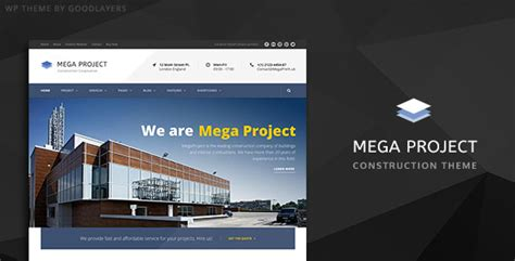 themes wordpress engineering 40 best construction wordpress themes 2018 for create
